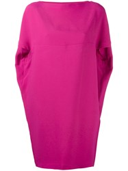 Gianluca Capannolo Shortsleeved Dress Pink Purple