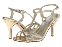 Touch Ups Fran Gold Glitter High Heels