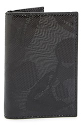 Alexander Mcqueen Skull Patent Leather Pocket Organizer Black