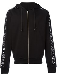 Mcq By Alexander Mcqueen Hooded Cardigan Black