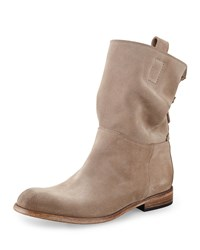 Alberto Fermani Umbria Slouchy Suede Ankle Boot Size 36.5B 6.5B Brown