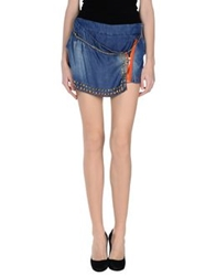 G.Sel Denim Skirts Blue