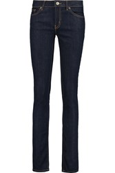 Red Valentino Low Rise Skinny Jeans Blue