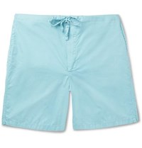 Cleverly Laundry Cotton Shorts Light Blue