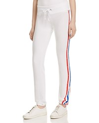 Wildfox Couture Wildfox Stripe Skinny Pants Clean White