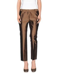 Alberto Biani Trousers Casual Trousers Women Bronze