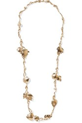 Aurelie Bidermann Gold Plated Necklace One Size