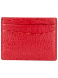 Furla Classic Cardholder Men Leather One Size Red