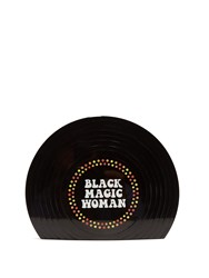 Sarah's Bag Black Magic Woman Perspex Clutch