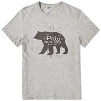 Polo Ralph Lauren Williamsburg Vintage Polar Bear Tee Grey