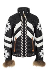 Bogner Elia D Ski Jacket Black White