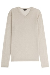 James Perse Cashmere Pullover Beige