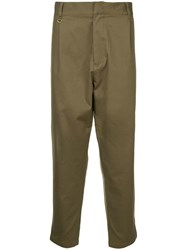 Makavelic Utility Tapered Trousers Green