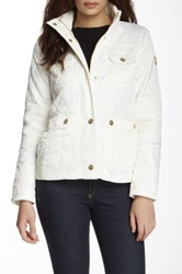 Vince Camuto Quilted Jacket White