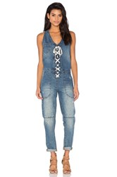Blank Nyc Lace Up Jumpsuit Low Key