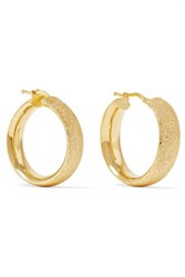 Carolina Bucci Florentine 18 Karat Gold Hoop Earrings