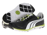 Puma Faas Lite Black White Lime Green Men's Golf Shoes