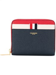 Thom Browne Contrast Wallet Women Leather One Size Blue