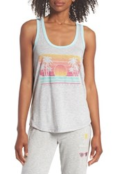 Pj Salvage Graphic Lounge Tank H Grey