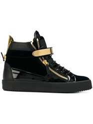 Giuseppe Zanotti Design Carter Mid Top Sneakers Black