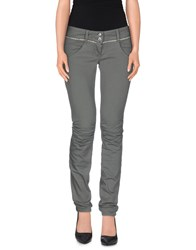 Met Denim Denim Trousers Women Grey