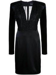 Haney Stam Fitted Dress Black