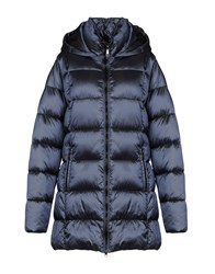 Adhoc Synthetic Down Jackets Slate Blue