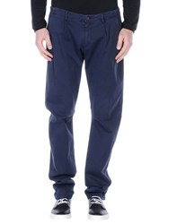 Maison Clochard Trousers Casual Trousers Men Dark Blue