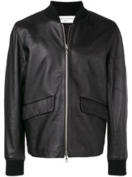 Officine Generale Shawn Bomber Jacket Black