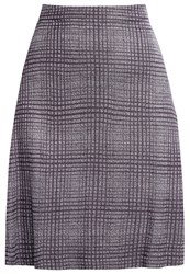Selected Femme Sfbiga Aline Skirt Grey Pinstripe