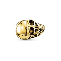 Thomas Sabo Yellow Gold Skull Karma Bead N A N A