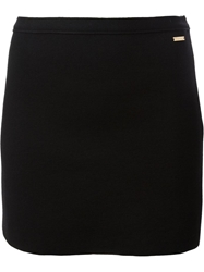 Dsquared2 Fitted Mini Skirt Black
