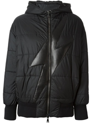 Neil Barrett Lightening Bolt Padded Jacket Black