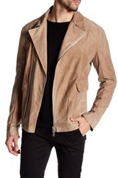 Helmut Lang Genuine Cow Leather Jacket Beige