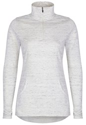 Cuddl Duds Long Sleeve 1 2 Zip Top Ivory