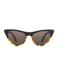 Prism St. Louis Cat Eye Sunglasses Tortoise Black