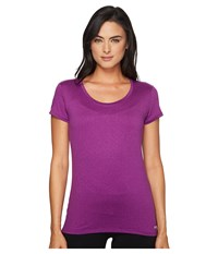 Marmot All Around Tee S S Deep Plum Women's T Shirt Purple