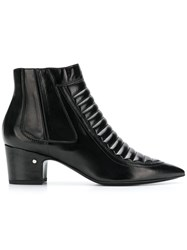 Laurence Dacade Pointed Ankle Boots Black