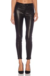 Level 99 Leather Skinny Black
