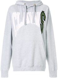 House Of Holland Claw Hoodie Grey