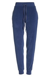 Felina Lourdes Fleece Jogger Pants Medieval Blue