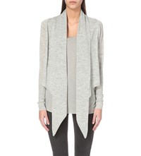 Allsaints Wasson Knitted Cardigan Mirage Grey