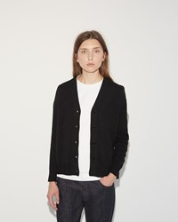 Sofie D'hoore Madison Cashmere Wool Cardigan Black