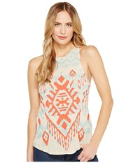 Rock And Roll Cowgirl A Line Loose Tank Top 49 1155 Tan Women's Sleeveless