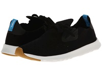 Native Apollo Moc Jiffy Black Shell White Shoes