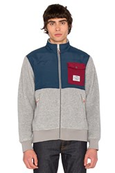 Poler Half Fleece Jacket Gray