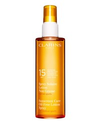 Sunscreen Spray Oil Free Lotion Progressive Tanning Spf 15 Clarins