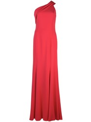 Jay Godfrey Stone Gown Red