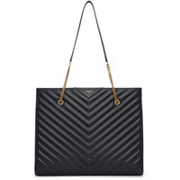 Saint Laurent Black Jumbo Tribeca Tote