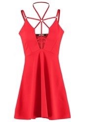 Missguided Cocktail Dress Party Dress Red